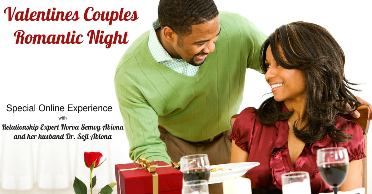 Valentines Couples Romantic Night image